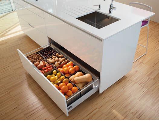 Alipa coci as noticias aprovechando el espacio en la cocina for Accesorios para cocinas pequenas